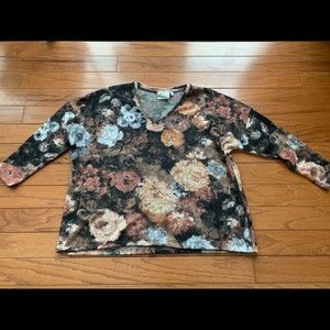 SWEATER- Dantelle SOFT floral